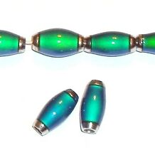 MC117f Color Changing Thermo Sensitive Liquid Crystal Mood Beads 12mm Tube 6pc