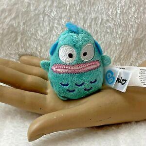 "Fiesta Sanrio Cutie Beans Hangyodon Fish Plush Stuffed Animal 2.5"" Blue Tiny"