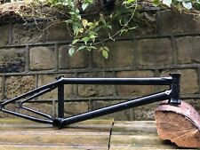"WETHEPEOPLE MESSAGE 20.3"" BMX Frame BLACK 2020 Total Oil Slick Hangover £320RRP"