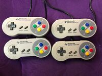 USED NINTENDO SFC/SNES Game controllers