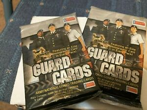 Lot of 2 Army National Guard Cards Trading Cards
