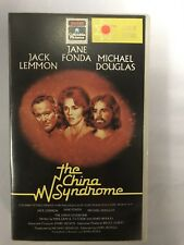 The China Syndrome Ex-Rental Vintage VHS Tape English  dutch subs