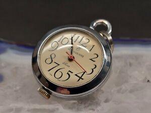 Lausanne Swiss Made Uhr als Kettenanhänger , Taschenuhr für Damen ,Uhrenanhänger