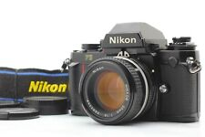 [Exc.+++++] Nikon F3 SLR Camera 50mm 1.4 AIS ai-s Lens Strap S/N 142* From Japan