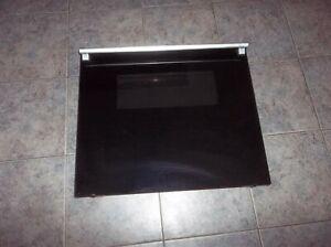 Thermador MSC-224  Black Oven Door COMPLETE  14-34-889 with glass 00142718