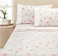 Isla Cream Soft Flannelette Sheet Set | 100% Cotton | Cuffed & Piped | King