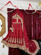Anarkali Wedding Gown Indian pakistani Bollywood Bridal dress mohsin sons &sari