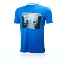 Camisetas y polos de deporte de hombre azul sin mangas