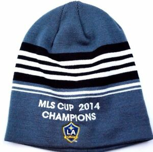 Los Angeles Galaxy MLS Cup Champions Soccer/Futbol Winter Knit Hat/Beanie