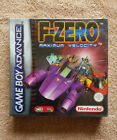 F-ZERO GAMEBOY ADVANCE / neuf blister Nintendo / new sealed red strip