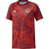 Adidas Fußball FCB FC Bayern München Herren Pre-Match Shirt 2019/20 Trikot rot