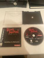 Tecmo's Deception (Sony PlayStation 1, 1996) Disc And Manual, Tested PS1