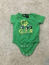 John Deere G is for Gator Short Sleeve BodySuit Sz 6-9 months S2