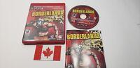 """Borderlands (SONY PLAYSTATION PS3) """"CIB"""""""