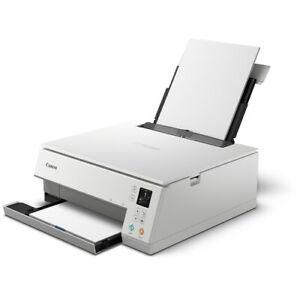 GENUINE Canon Pixma TS6320 Wireless All-In-One Inkjet Printer Scanner Copier WHT