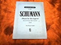 SCHUMANN Album für die Jugend Op. 68 Edition Breitkopf Nr. 2688 für(Notenheft)