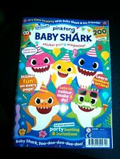 Official Pinkfong Baby Shark Magazine Issue 2 (new) With 200 Stickers