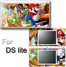 Super Mario VINYL SKIN STICKER COVER For DS LITE NDSL 1