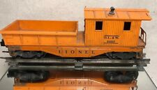 1970's LIONEL: D.L.& W. 611925 WORK CABOOSE/ O-O27 GAUGE/ PRE OWNED