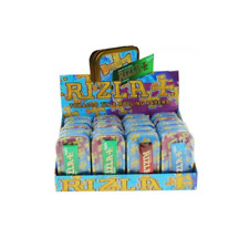 More details for rizla branded authentic multicolour logo 1oz metal tobacco tins & rolling papers