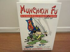 MUNCHKIN FU  (# 1412)  Steve Jackson Games  (1st Edition, 6th Printing)  NEW