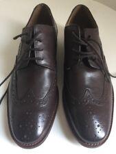 Florsheim Brown  Leather Wing Tip Dress Oxfords Men's Size 8.5D NEVER BEEN WORN