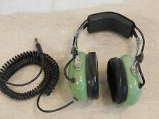 Vintage David Clark Aviation Headset Model H10-00 Headphones