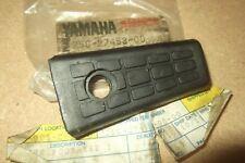 YAMAHA XC180  RIVA  C.1985  GENUINE NOS PROP STAND RUBBER - # 25G-27453-00