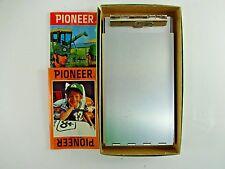 Vintage Aluminum Metal Clipboard  w/ Storage Compartment Document Paper Box USA