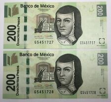 🇲🇽$200 Mexican Pesos - 2011 Uncirculated Pick P-125k.1 Mexico World Currency