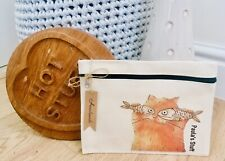 Cat Zip-up Pouch, Make-up Bag **HANDMADE, CAN BE PERSONALISED**