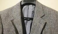 HARRIS TWEED ~ MATTHEW REED 2BTN Men's Gray Sport Coat Blazer Jacket Size 40R
