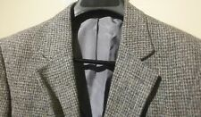 HARRIS TWEED ~ MATTHEW REED 2BTN Men's Gray Sport Coat Blazer Jacket Size 40R