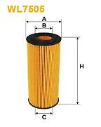 OIL FILTER AUDI A4 A5 A6 A7 A8 Q5 Q7 S4 S5 2.4 2.8 3.0 3.2 2004 ON WL7505