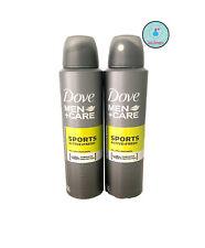 2 Pack Dove Men + Care Sport Active Fresh Antiperspirant Deodorant Spray 150 ML