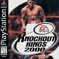Knockout Kings 2000 Playstation 1 PS1 Game Used Complete