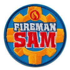 blau Aufnäher // Bügelbild 7,2x3,6cm Feuerwehrmann Sam Penny