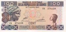 GUINEE/P35b // Billet(s) de 100 FRANCS-2012