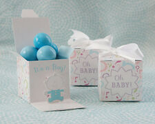 12 It's a Boyl - Baby Reveal Favor Boxes - Set of 12