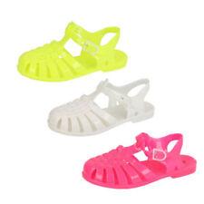 Calzado de niña sandalias blanco sin marca
