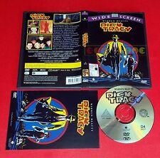 DICK TRACY (Warren Beatty, Madonna, Al Pacino) Dvd 1ª Ed. SIAE Rosa USATO ET