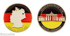 """BRANDEN BURGER TOR BERLIN GERMANY ARMY MILITARY 1.75"""" CHALLENGE COIN"""