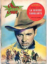 STAR CINE VAILLANCE   LOT DE 3 NUMEROS (46/51/66)  ANNEES 1960 VOIR SCANS