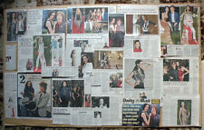 L'Wren Scott - fashion designer - clippings/cuttings/articles obituaries pack