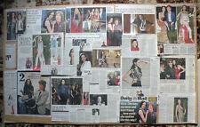 L'Wren Scott - fashion designer - clippings/cuttings/articles obituaries pack