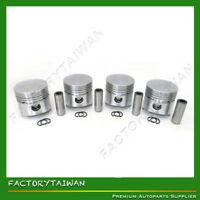 Pistons Set STD 82mm for KUBOTA V1702 (100% TAIWAN MADE) x 4 PCS
