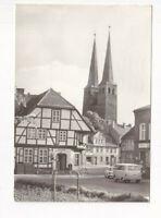 uralte AK Burg bei Magdeburg Magdeburger Straße 1980 //19