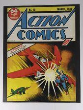 SUPERMAN ACTION COMICS 10 Wall Art Print 11X14 DC Comics