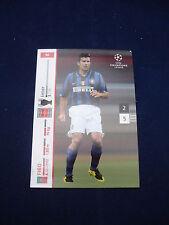 Panini UEFA Champions League card 2007/8 # 92 - Figo - Inter
