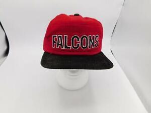 Vintage Atlanta Falcons New Era Pro 5 Panel Dupont Visor Snapback Style Hat NEW